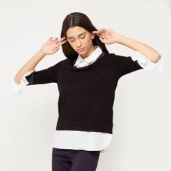 Apology - Sweater con camisa