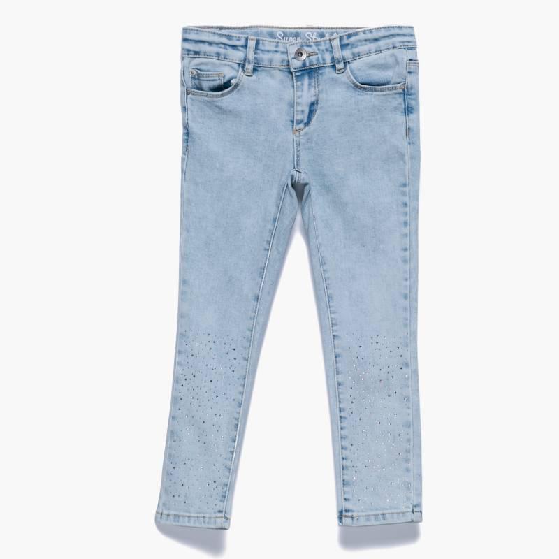 Yamp - Jean con strass 2 a 8