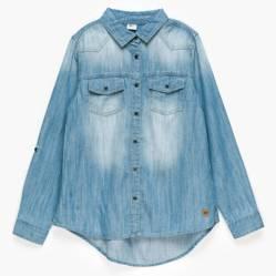 Elv - Camisa denim 10 a 16