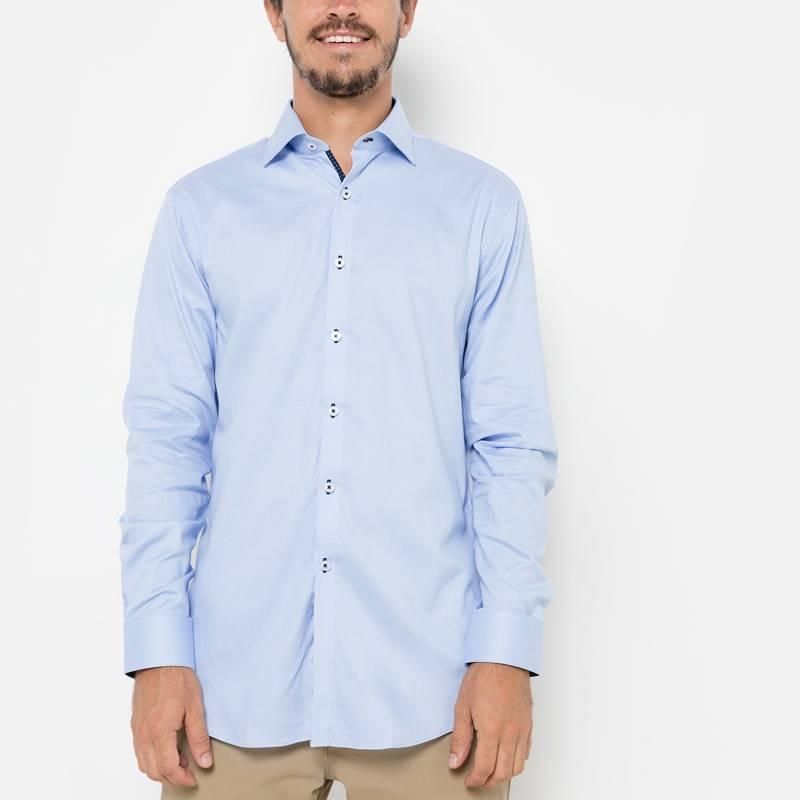 Basement - Camisa de vestir estampada