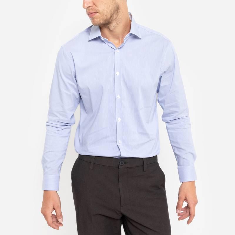 Basement - Camisa de vestir rayada
