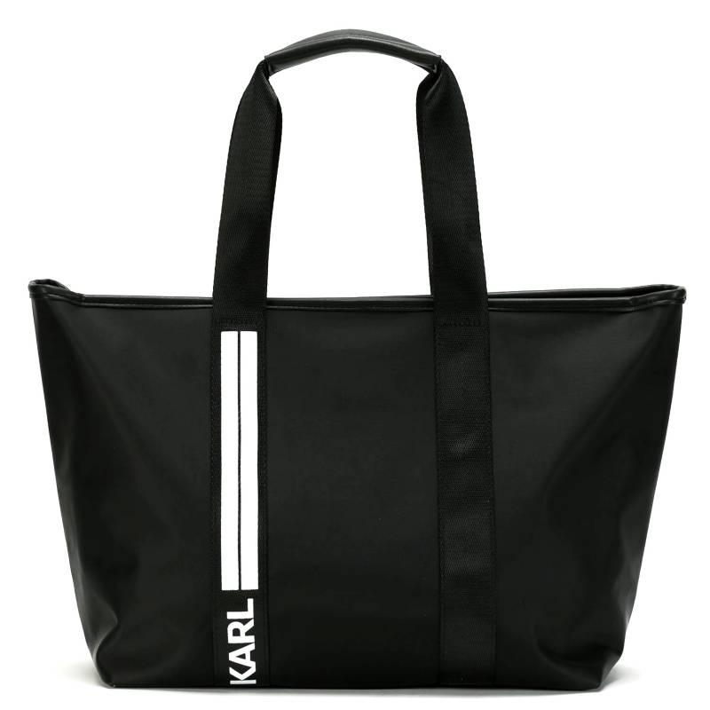 Karl Lagerfeld for Falabella - Bolso nylon tira logo