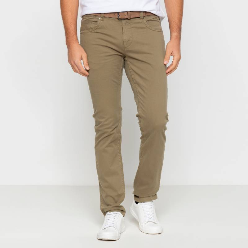 Basement - Pantalón 5 Bolsillos con cinturón