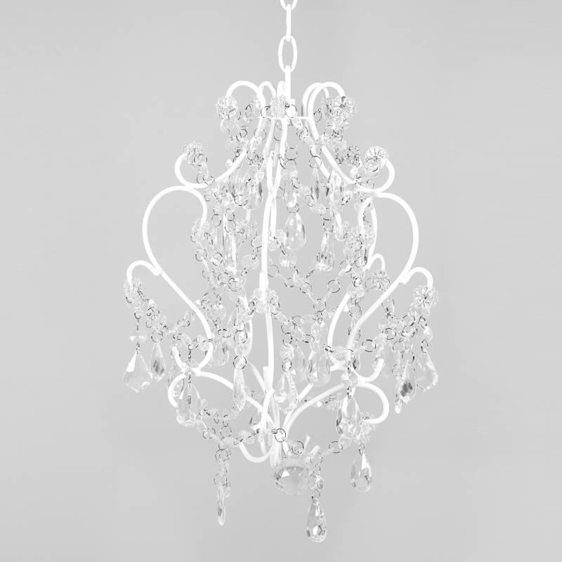 Mica - Lámpara colgante Caireles 25x34 cm