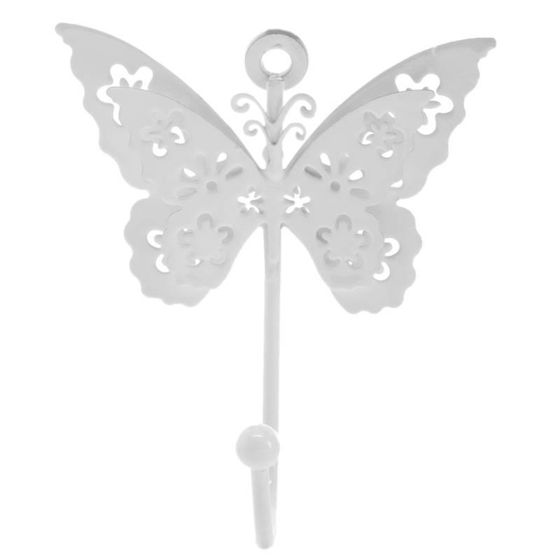 Mica - Perchero Mariposa 8x10 cm