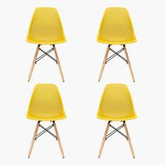 Mica - Set por 4 sillas Olsen