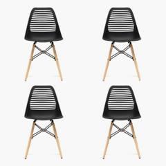 Mica - Set por 4 sillas Lucca