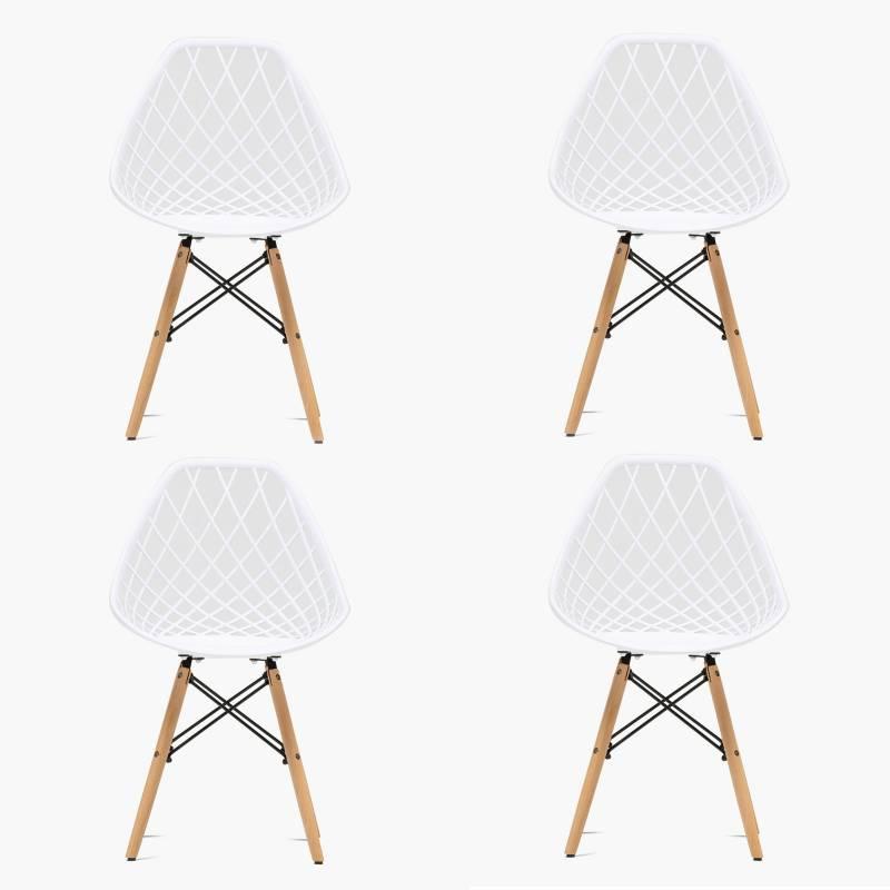Mica - Set por 4 sillas Dani