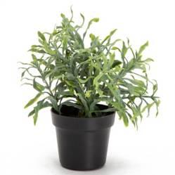 Mica - Planta pequeña sintética 16x18x18 cm