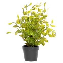 Mica - Planta pequeña sintética 35x7x7cm