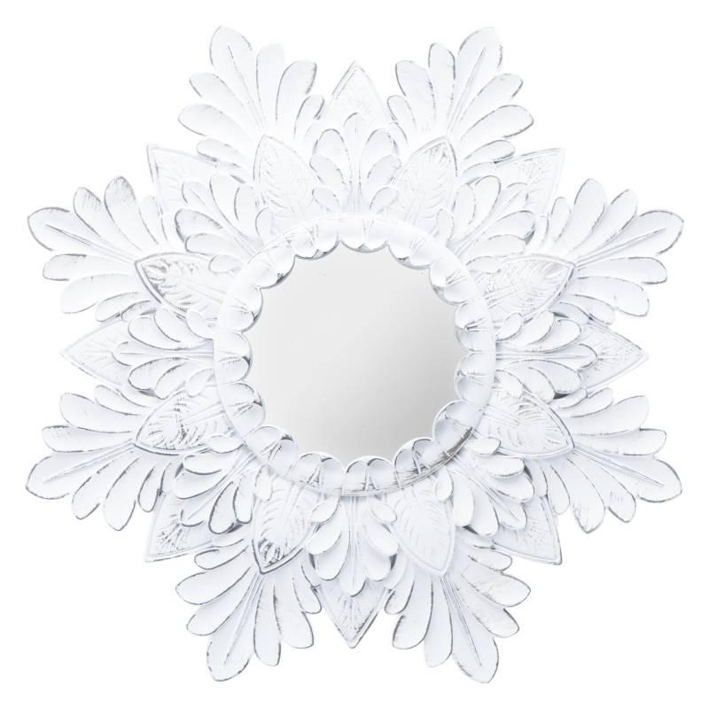 Mica - Espejo de pared Flor 40 cm