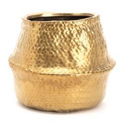 Mica - Maceta Gold 16x18x13cm