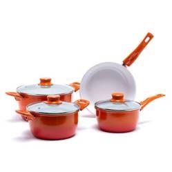 Mica - Batería de cocina Bottura cerámica degrade 7 piezas