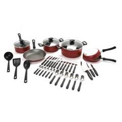 Tramontina - Batería de cocina Loreto 38 piezas