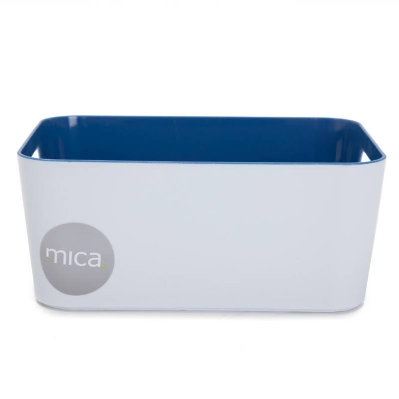 Mica - Canasto organizador con manijas multi 24x17x10.3 cm