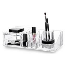 Mica - Organizador make up Clear 30.55x15x9 cm