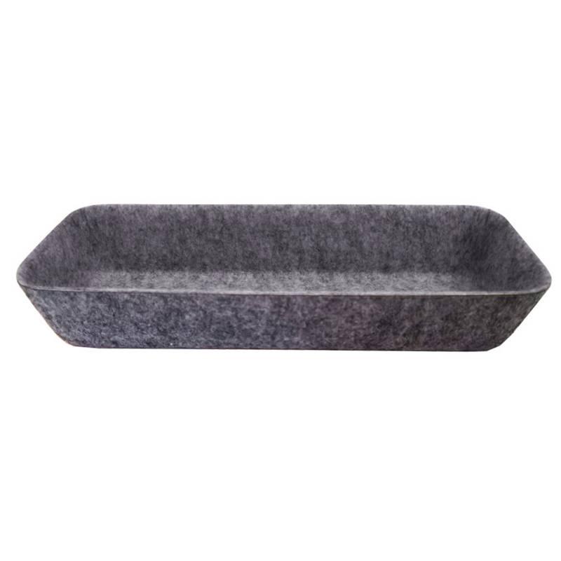 Mica - Organizador felt largo 25.5x9x4.5 cm