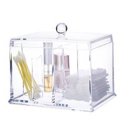 Mica - Organizador make up Algodonero Clear 14.8x10.9x12.8 cm