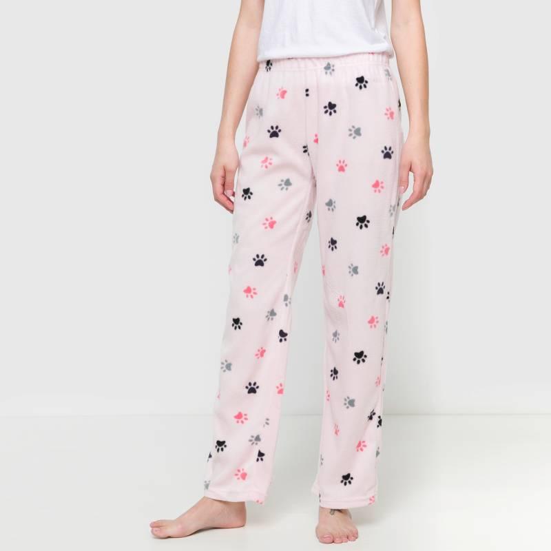 Sybilla - Pantalón de pijama polar estampado