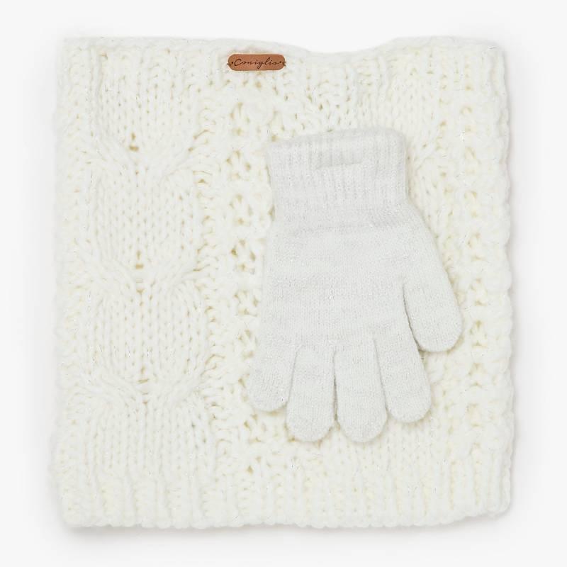 Coniglio - Conjunto bufanda y guantes S a L