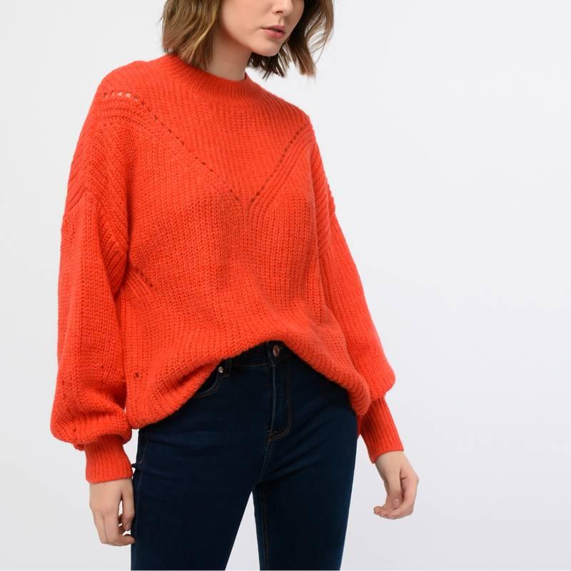 Basement - Sweater acanalado