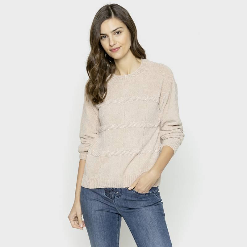 Newport - Sweater tejido con trenzas