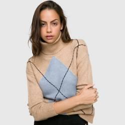 Basement - Sweater cuello alto