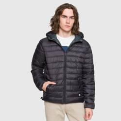 Bearcliff - Campera con capucha reversible