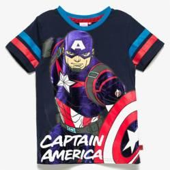 Avengers - Remera Capitán América 4 a 10