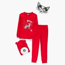 Yamp - Pijama con gorro y máscara 2 a 8