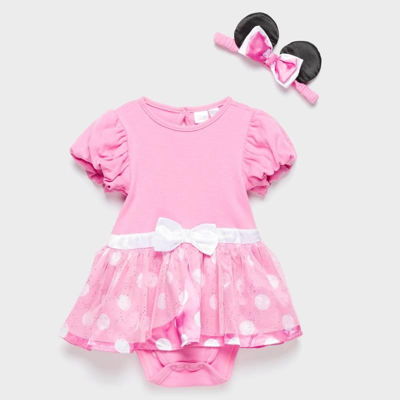 Minnie - Bodys Minie 0 a 9 meses