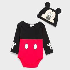 STD Characters - Bodys Mickey 0 a 9 meses