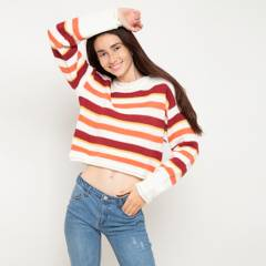 Elv - Sweater crop 10 a 16