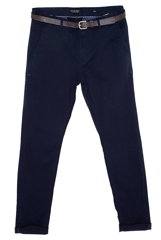 Basement - Pantalon chino con cinturón
