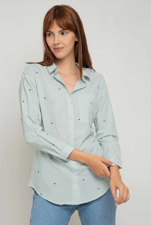 Sybilla - Camisa bordada