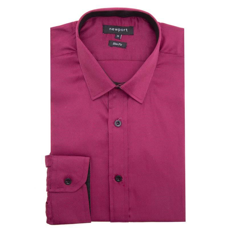 Newport - Camisa de vestir texturada