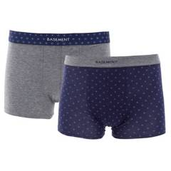 Basement - Pack por 2 boxers estampados