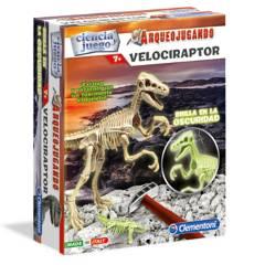 Clementoni - Arqueojugando velociraptor