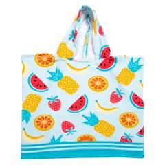 Mica Kids - Poncho frutas 60x120 cm