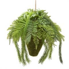 Mica - Planta helecho colgante sintética 32 cm