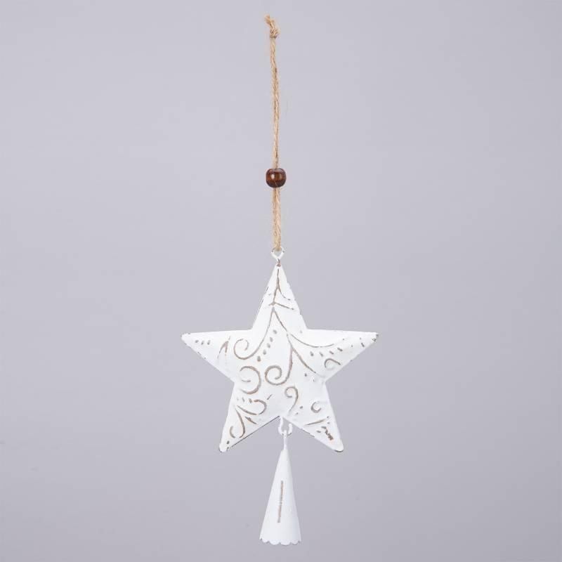 Mica - Estrella bell 10x10cm
