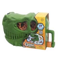 Dinoval - Maleta de cabeza T Rex con 11 dinosaurios
