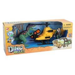 Dinoval - Dinosaurio con helicóptero
