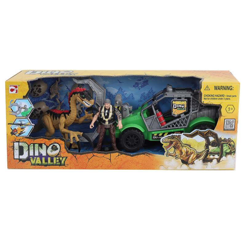 Dinoval - Dinosaurio con vehículo