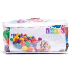 Intex - Pelotas Fun Ballz 100 piezas