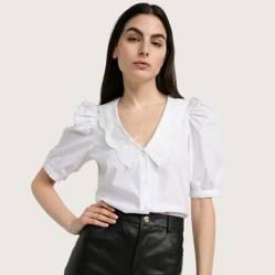 Basement - Blusa con cuello