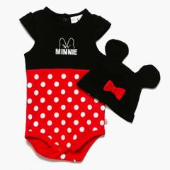 Minnie - Body Minie 0 a 9 meses