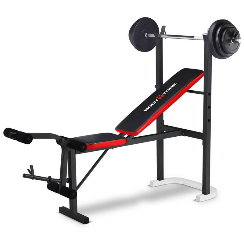 Body Tone - Workout Bench con pesas MTDP-1007