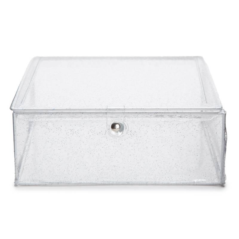 Mica - Caja organizadora con brillos 7x18x18 cm