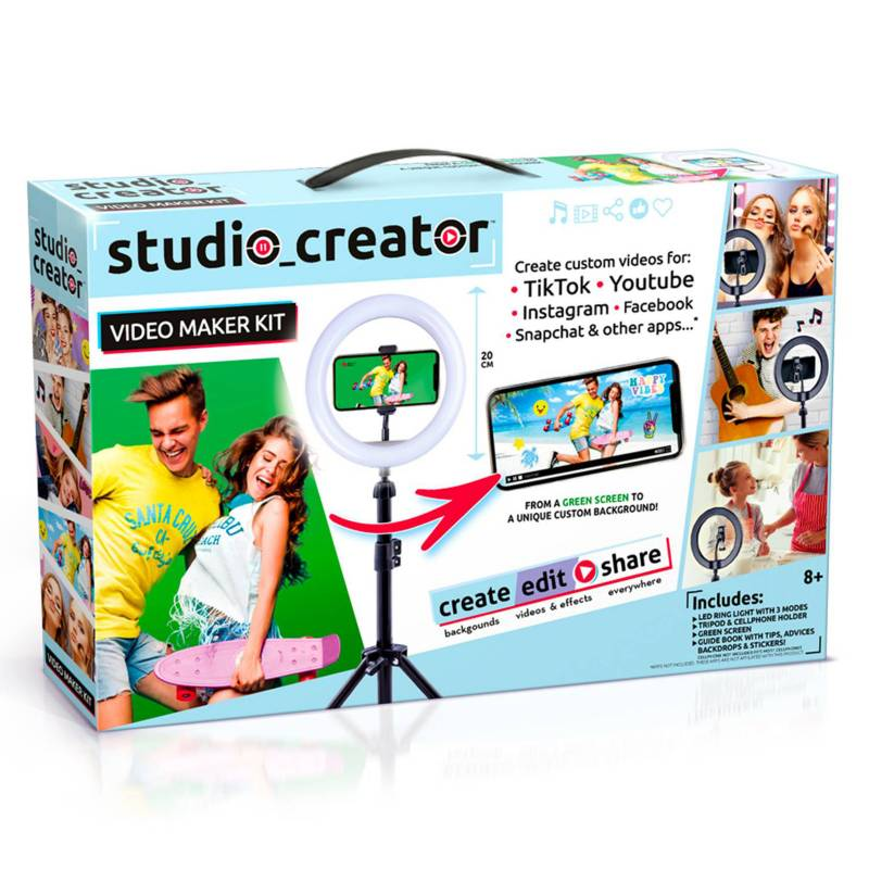 Canal toys - Kit estudio para crear videos